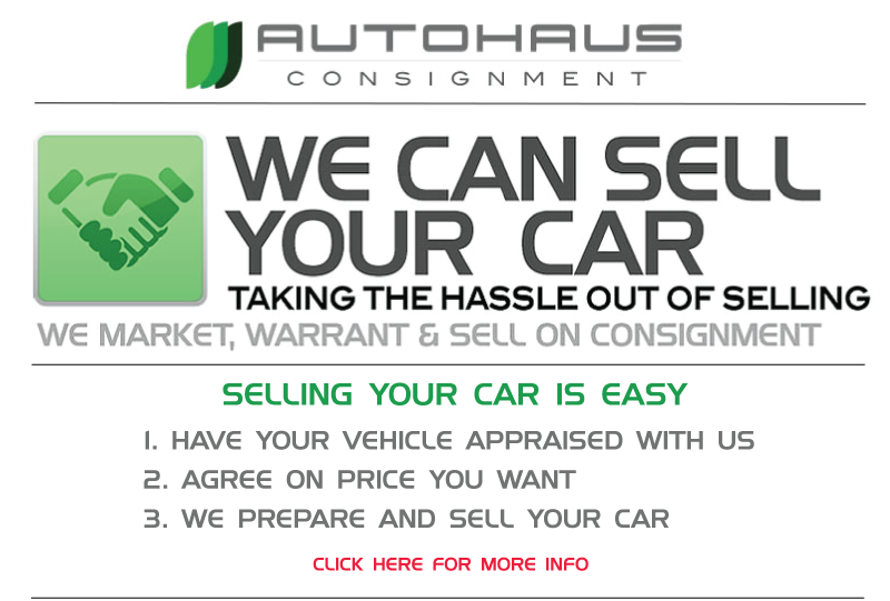 Sell or Consign your Vehicle